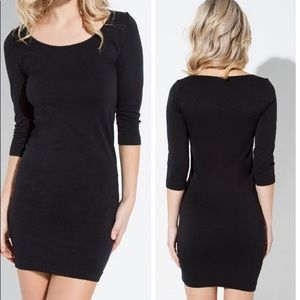 Dresses & Skirts - Black LBD Seamless Dress Simple Minimalist